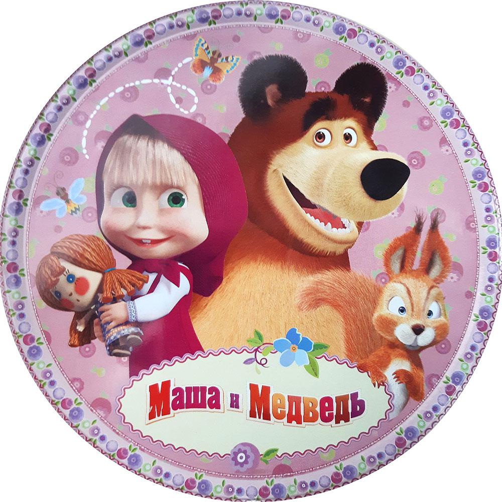 Печенье Сладкая Сказка Маша и Медведь, сдобное, 150 г дмитриева в сост рисуем по клеточкам и точкам динозавры