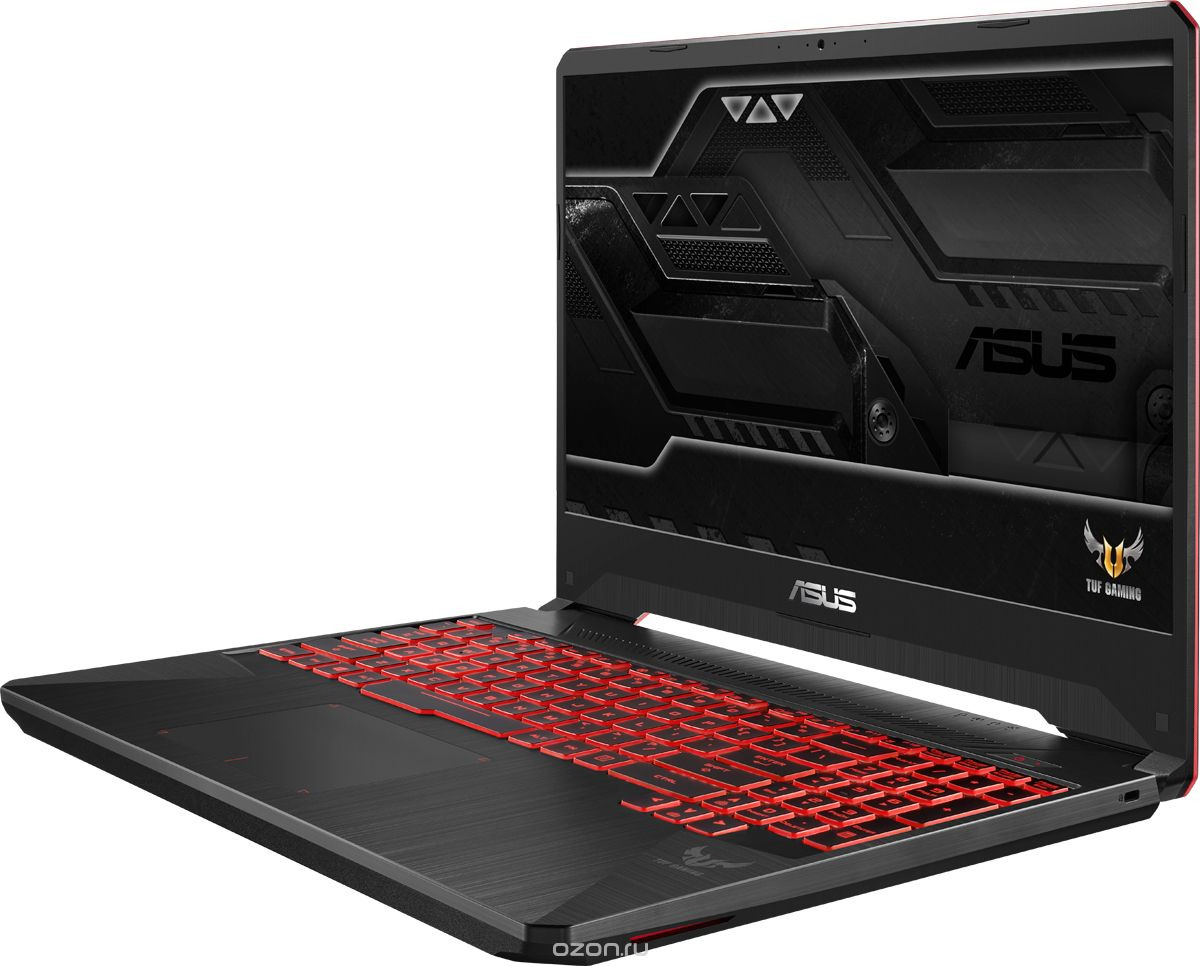 15.6 Игровой ноутбук ASUS TUF Gaming FX505GM 90NR0131-M05220, серый