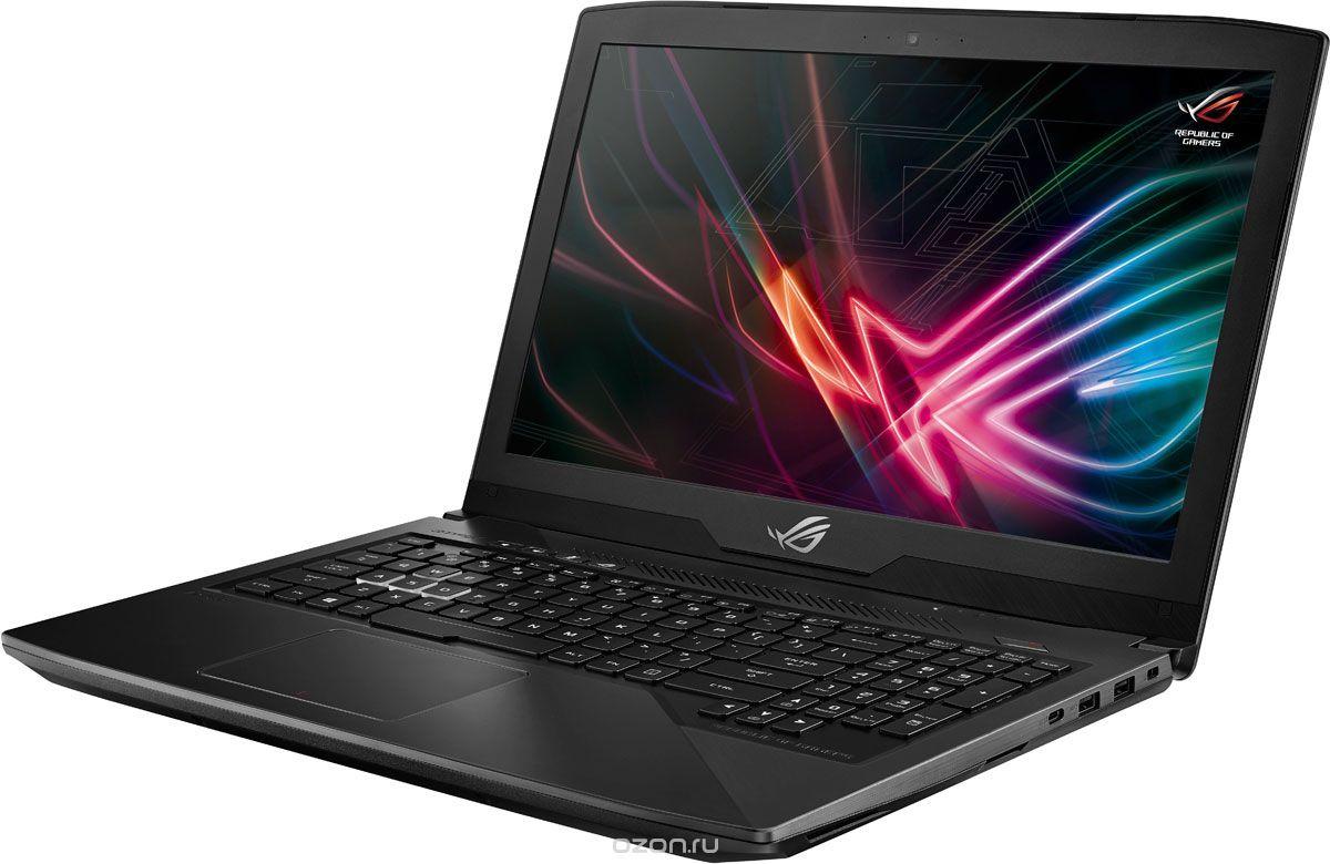 15.6 Игровой ноутбук ASUS ROG Strix SCAR Edition GL503GE 90NR0081-M05460, черный ноутбук asus rog gl503ge en274 90nr0081 m05480