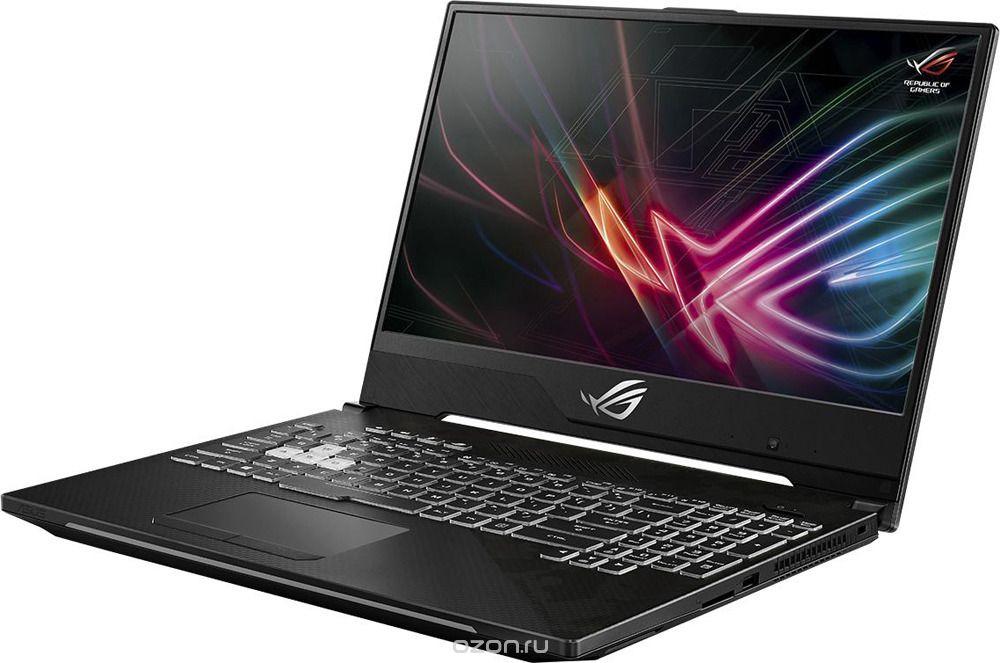 Игровой ноутбук ASUS ROG Strix SCAR II GL504GS 90NR00L1-M03210, серый ноутбук msi gs65 8rf 069ru core i7 8750h 32gb 512gb ssd nv gtx1070 8gb 15 6 fullhd win10 black