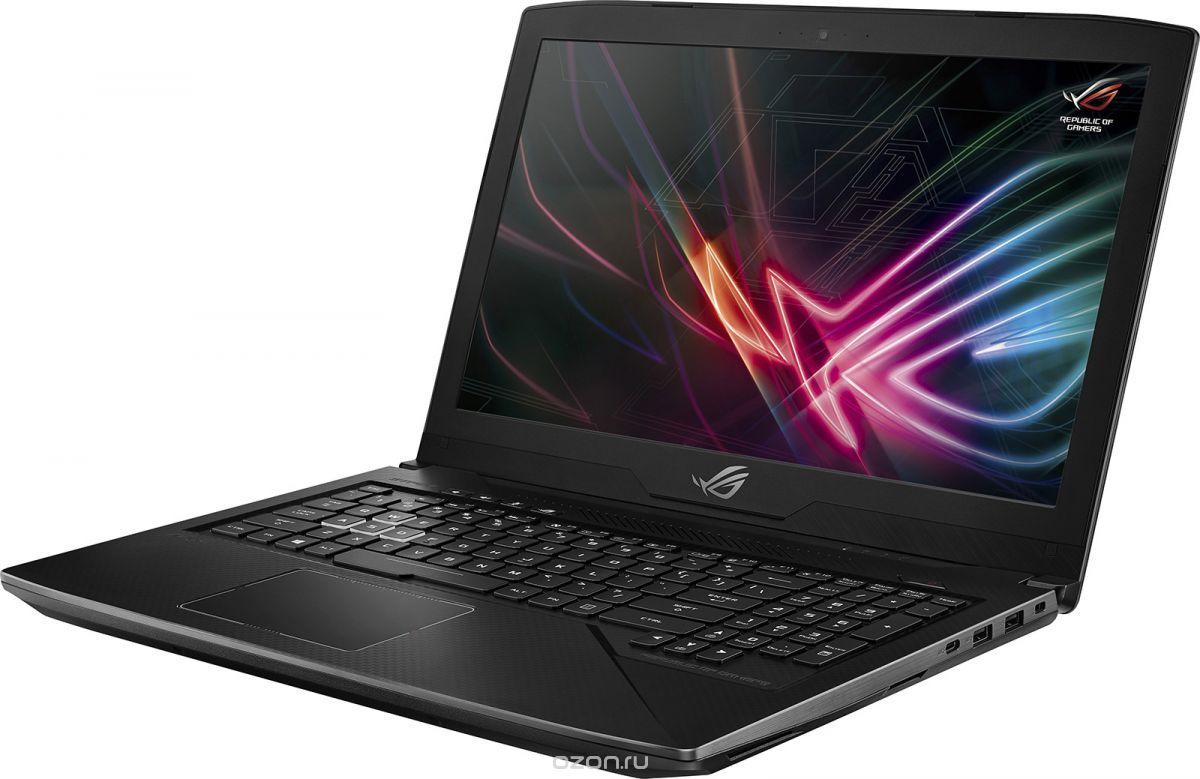 Игровой ноутбук ASUS ROG Strix SCAR Edition GL703GM 90NR00G1-M04830, черный