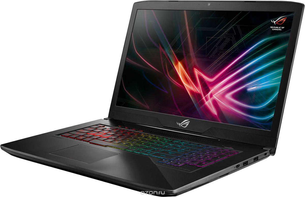 Игровой ноутбук ASUS ROG Strix SCAR Edition GL703GS 90NR00E1-M02480, серый ноутбук asus rog gl504gs es094 core i7 8750h 16gb 1000gb 256gb ssd nv gtx1070 8gb 15 6 fullhd dos