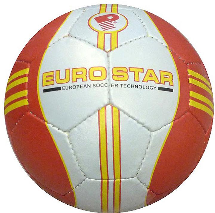 Мяч футбольный Indigo Euro Star, 1154, белый, размер 5 мяч футбольный indigo goal c02 белый синий желтый размер 5