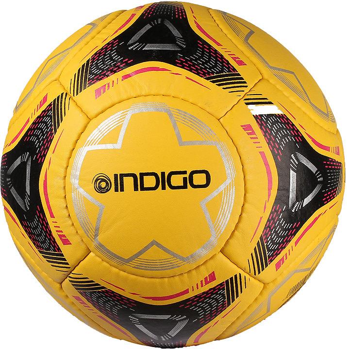 Мяч футбольный Indigo Unico Combine, 100044/1389, черный, размер 5