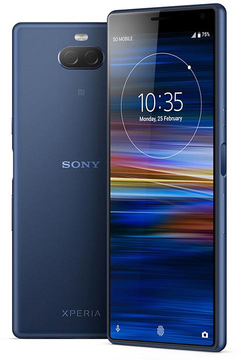 Фото - Смартфон Sony Xperia 10 64 GB, темно-синий видео