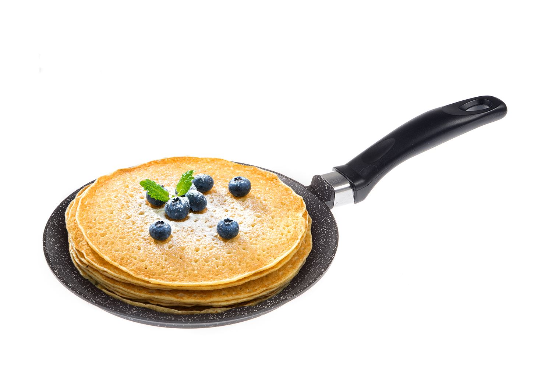 Картинка сковорода с блинами