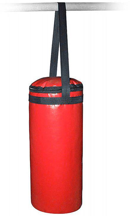 Боксерский мешок Indigo, на стропе, SM-231, красный, 6 кг мешок боксерский атлет sportlim 25 кг