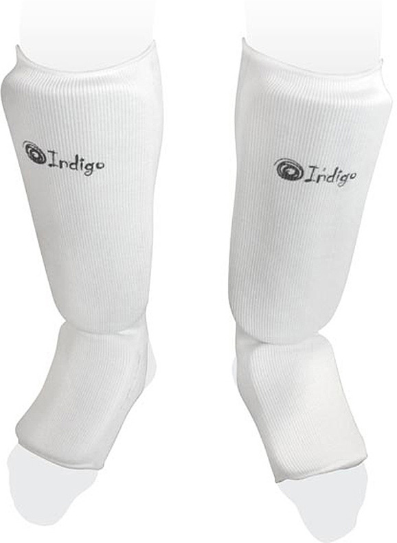 Защита голени Indigo, PS-1316, белый, размер XL adidas защита голени pu shin guard