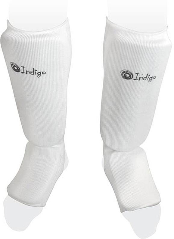 Защита голени Indigo, PS-1316, белый, размер XSPS-1316Защита голени и стопы INDIGO PS-1316 - незаменимый элемент экипировки с удобной системой фиксации Предназначена для предотвращения травм костей и мышц голеностопа Защита голени имеет хорошую посадку и плотную набивку, что обеспечит надёжную защиту голени и стопы при любых видах единоборств Защита для голени обеспечит стабильное положение ног и предотвратит от травм при отработке ударов
