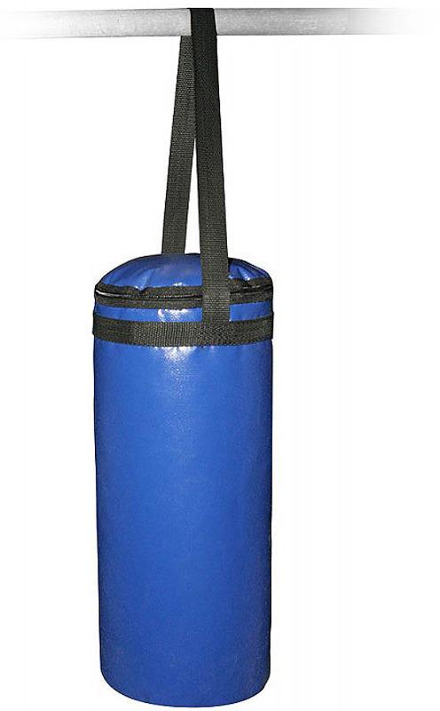 Боксерский мешок Indigo, на стропе, SM-231, синий, 6 кг мешок боксерский атлет sportlim 25 кг