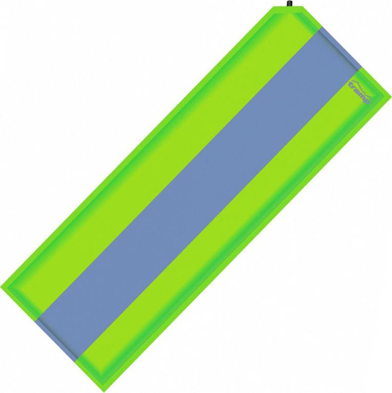 Коврик самонадувающийся Tramp, TRI-006, зеленый, серый, 185 х 66 см коврик tramp tri 002