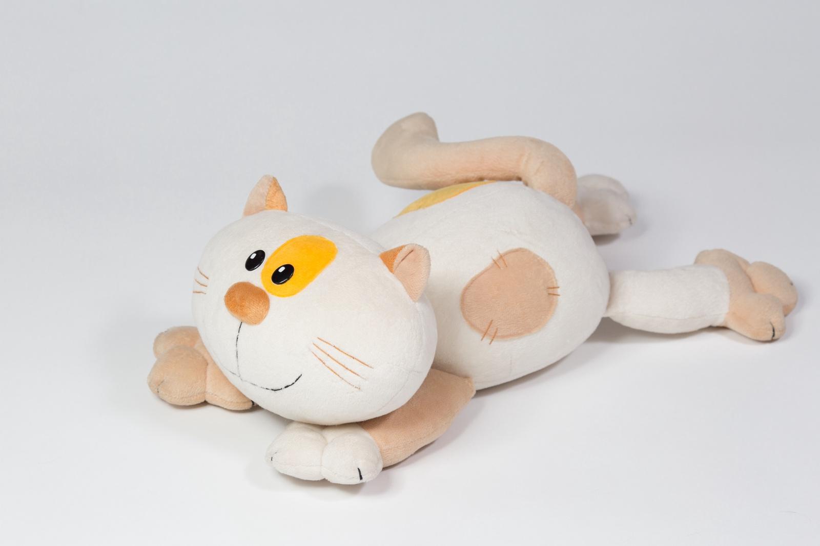 Игрушка кот с костью от рыбы