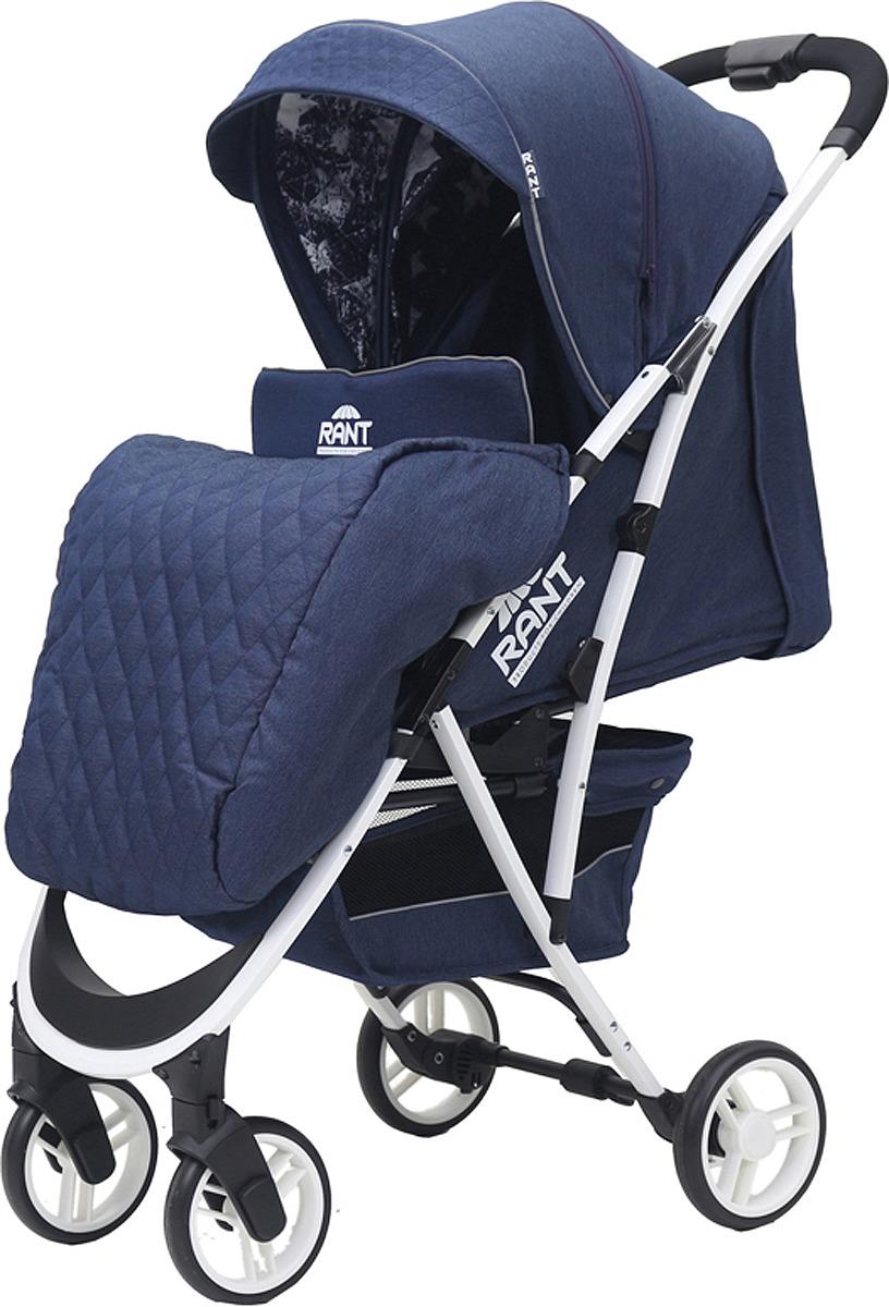 Rant Коляска прогулочная Largo Jeans цвет синий коляска прогулочная rant largo stars graphite