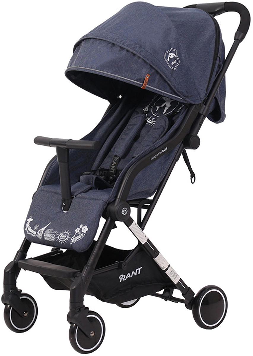 Коляска прогулочная Rant Tour RA830, blue коляска прогулочная rant largo stars graphite