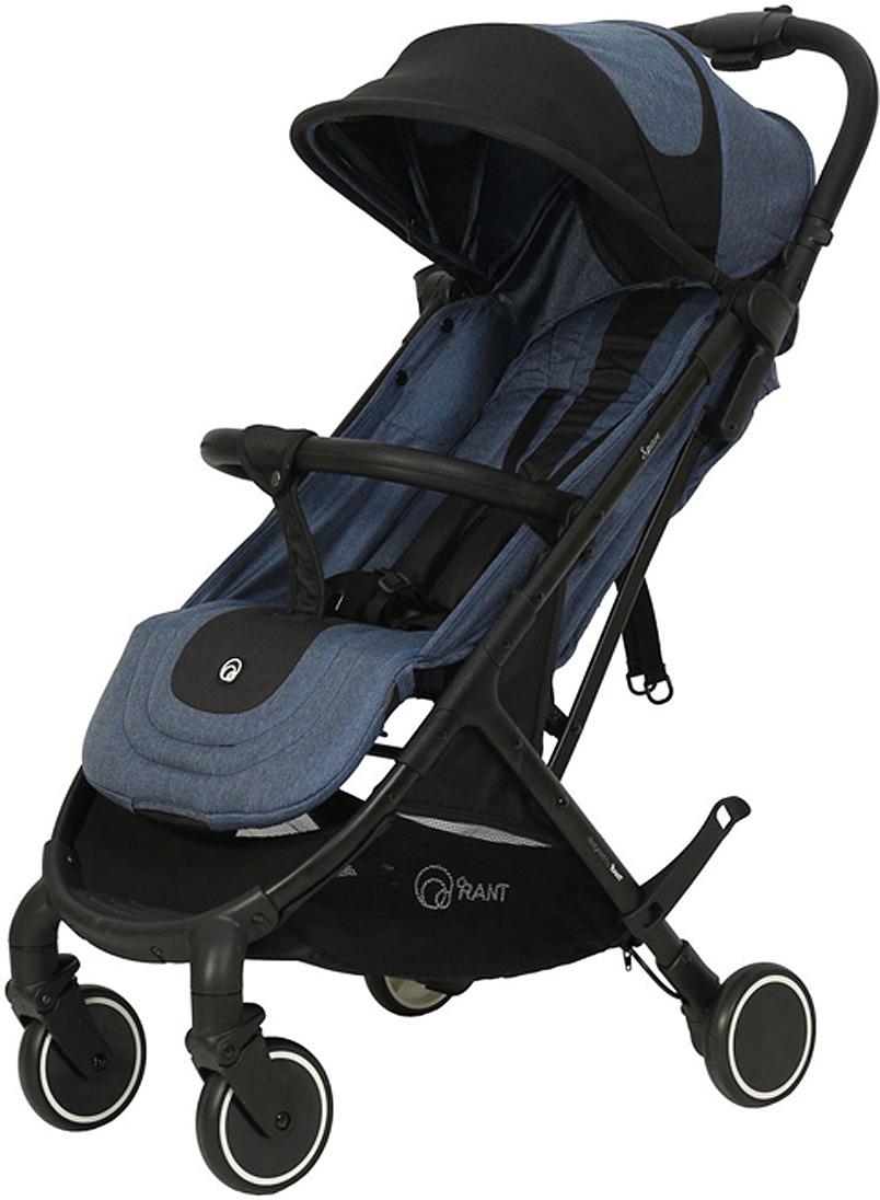 Коляска прогулочная Rant Space RA142, blue black коляска прогулочная rant largo stars graphite