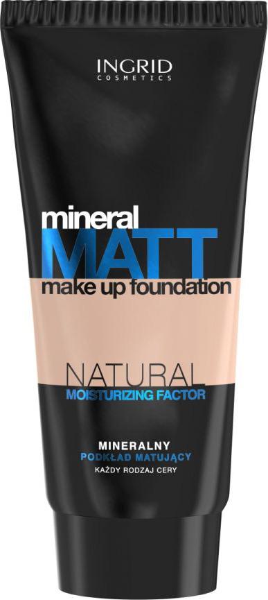 Тональный крем Ingrid Mineral Matt, тон 304, песочный