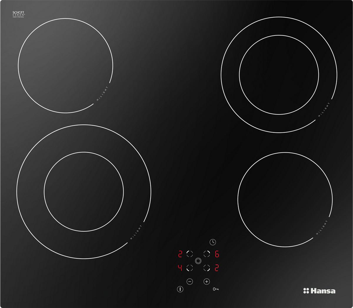 Варочная панель Hansa BHC96506, черный