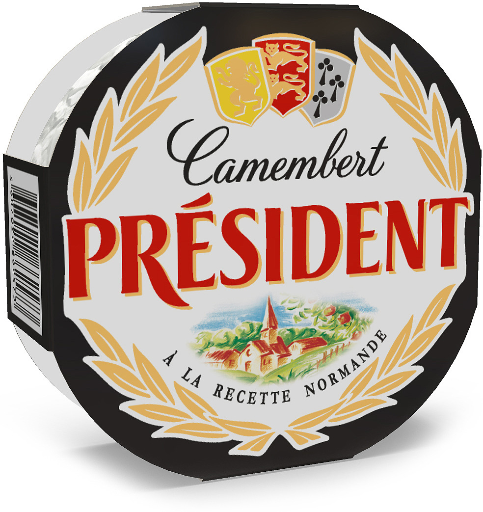 Сыр мягкий с белой плесенью President Камамбер, 45%, 125 г цена 2017