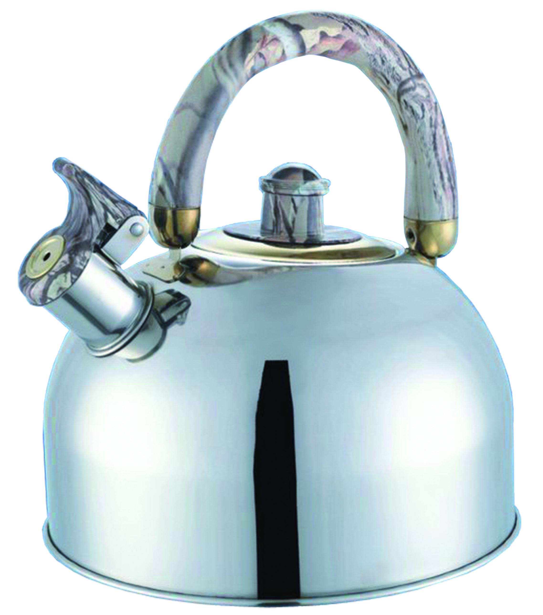 Чайник мет. BHL - 623, 2,5л., мр.серый. bohmann bhl 655