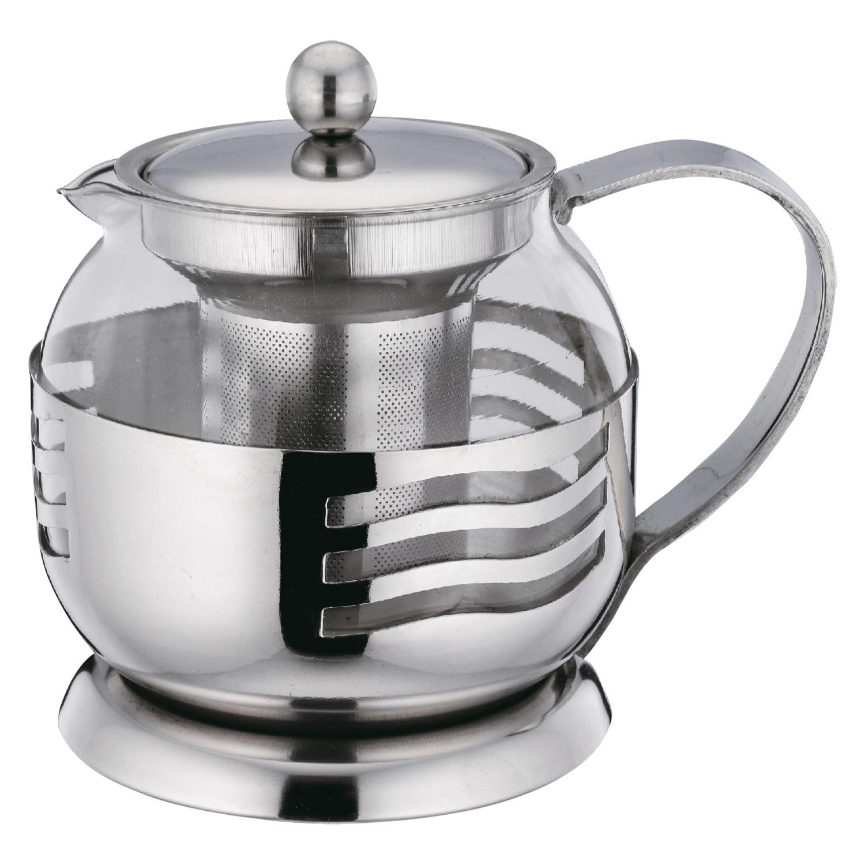 Чайник заварочный BOHMANN 9671BH, серебристый цены онлайн