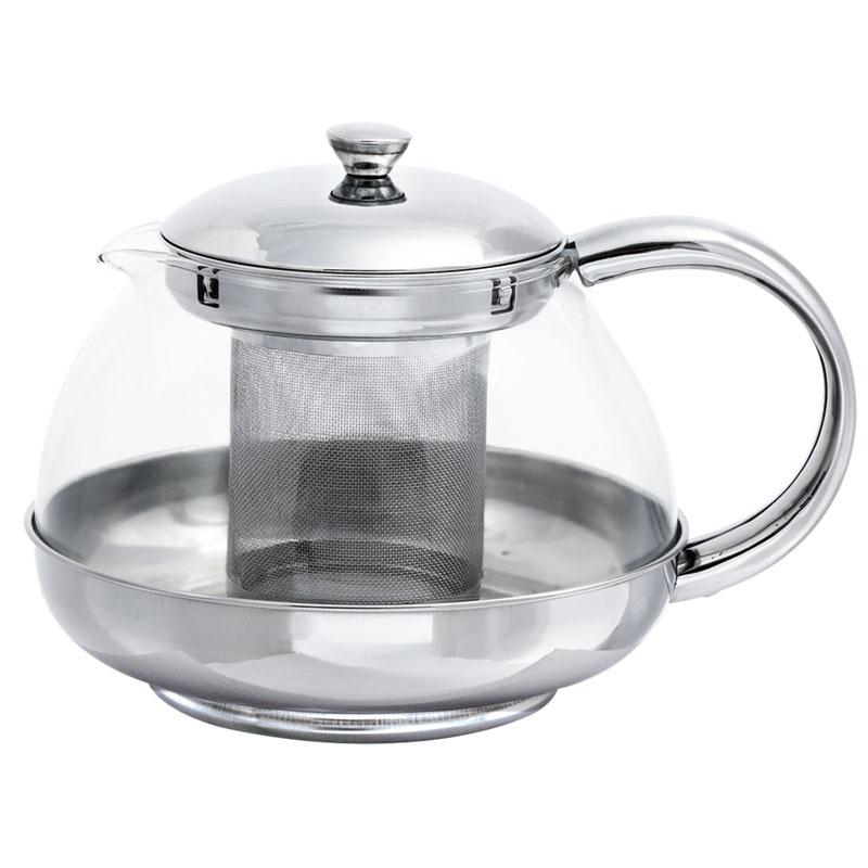Чайник заварочный BOHMANN 9637BH, серебристый цены онлайн