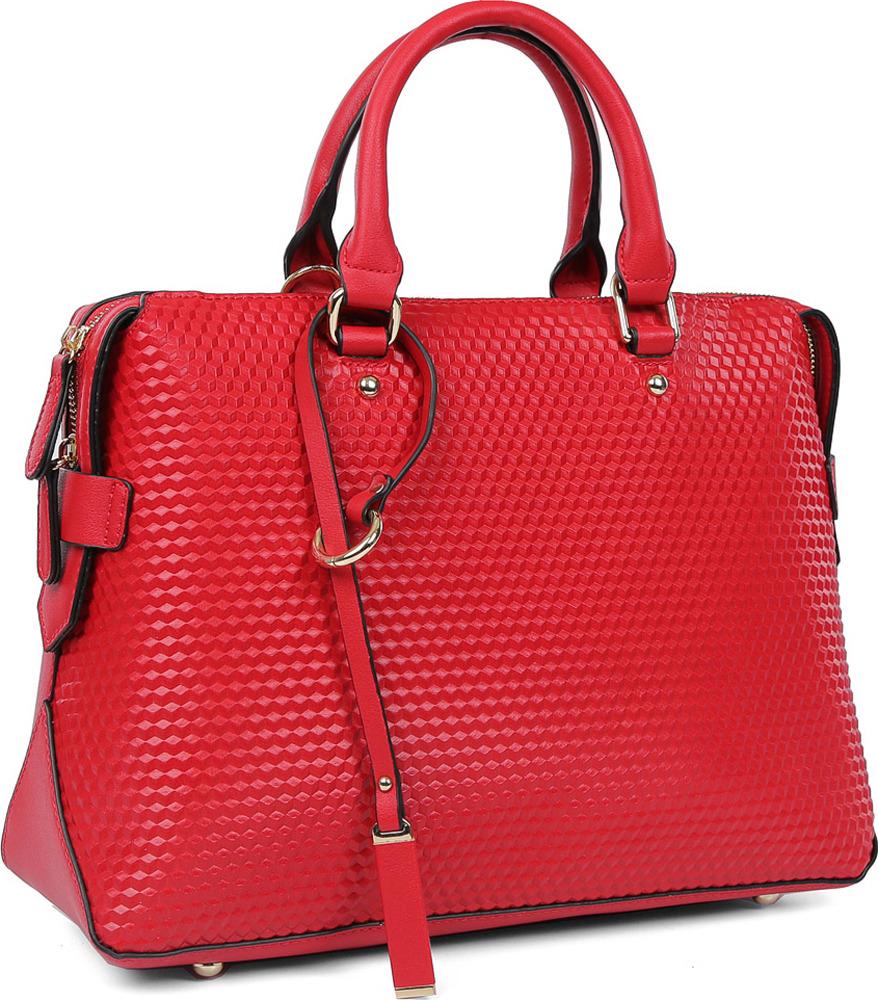 Сумка женская Fabretti, f-29858-red, красный сотовый