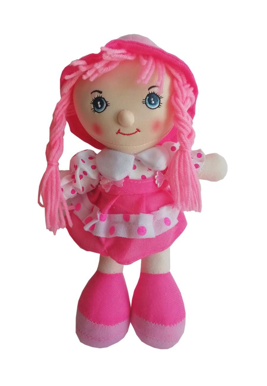 """Мягкая кукла TashaToys Кукла мягкая """"Курносик"""". (10х27х15 см) коралловый"""