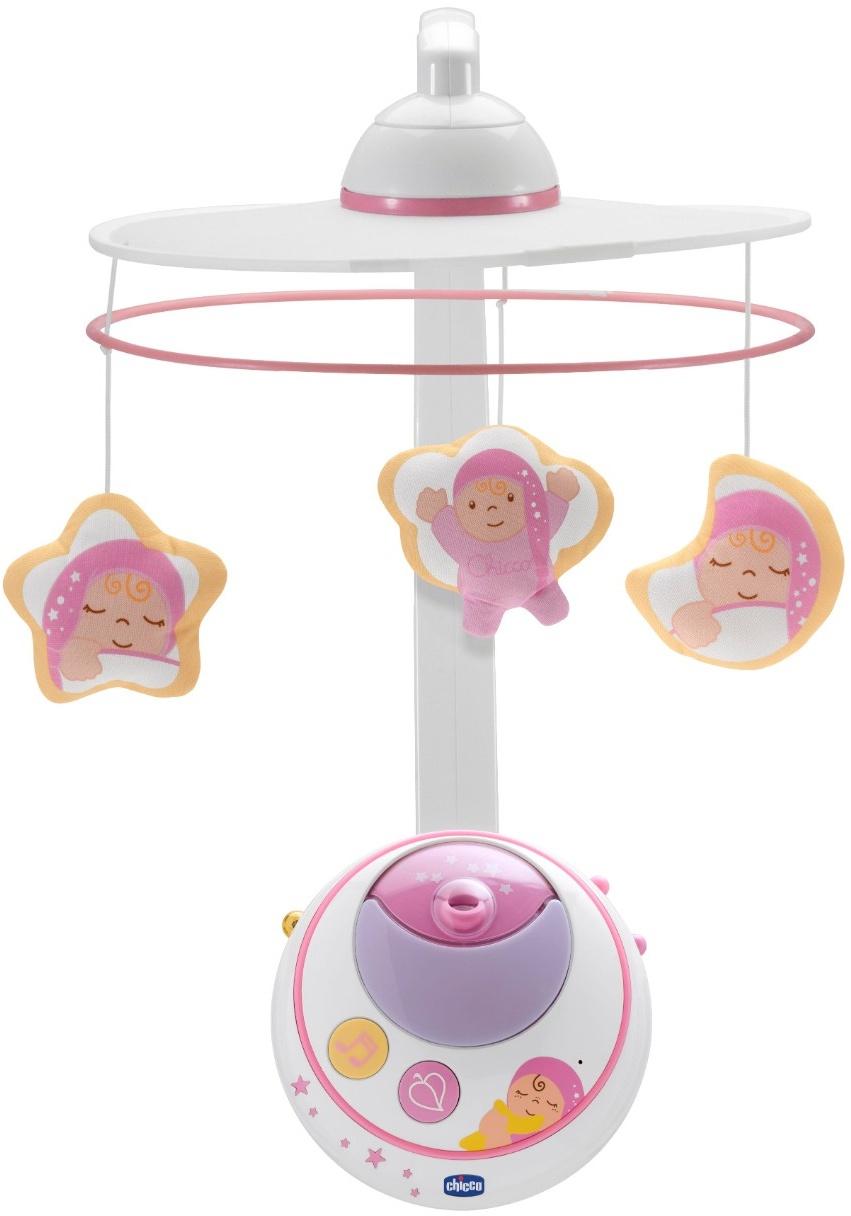 Фото - Мобиль Chicco Волшебные звезды розовый проектор