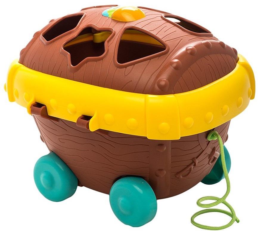 Сортер Chicco Пиратский сундук какие игрушки интересны для малыша 8 месяцев фото