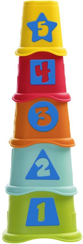 все цены на Пирамидка Chicco Stacking Cups онлайн