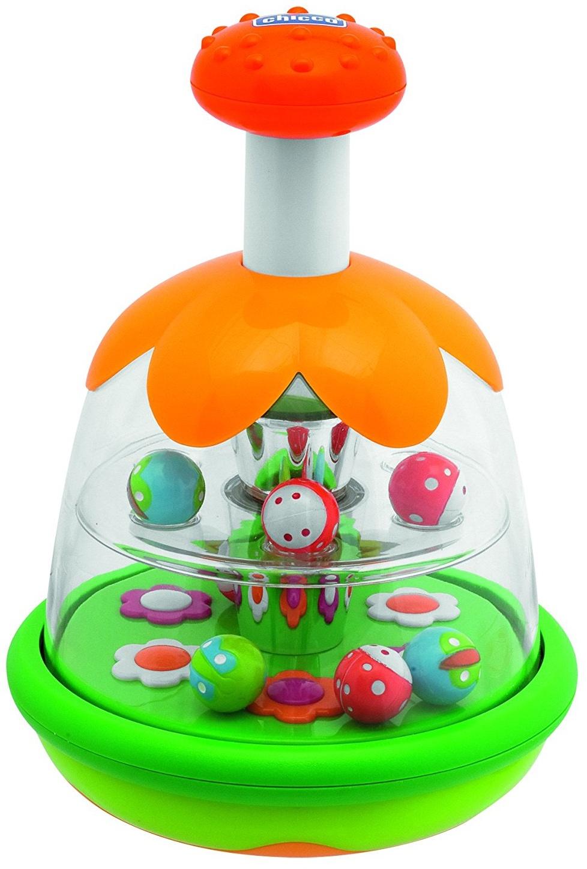 Юла Chicco Радуга какие игрушки интересны для малыша 8 месяцев фото