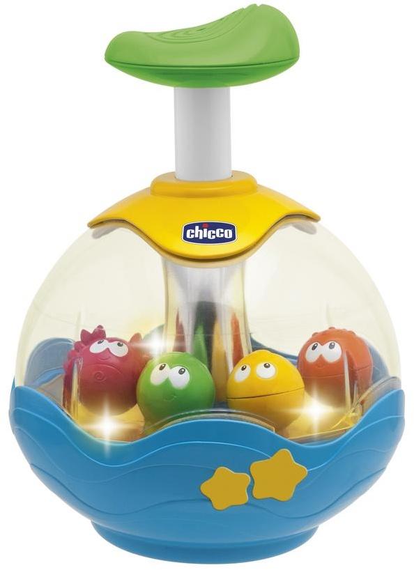 Юла Chicco Aquarium музыкальные игрушки chicco кастрюлька стэн 6 36 месяцев