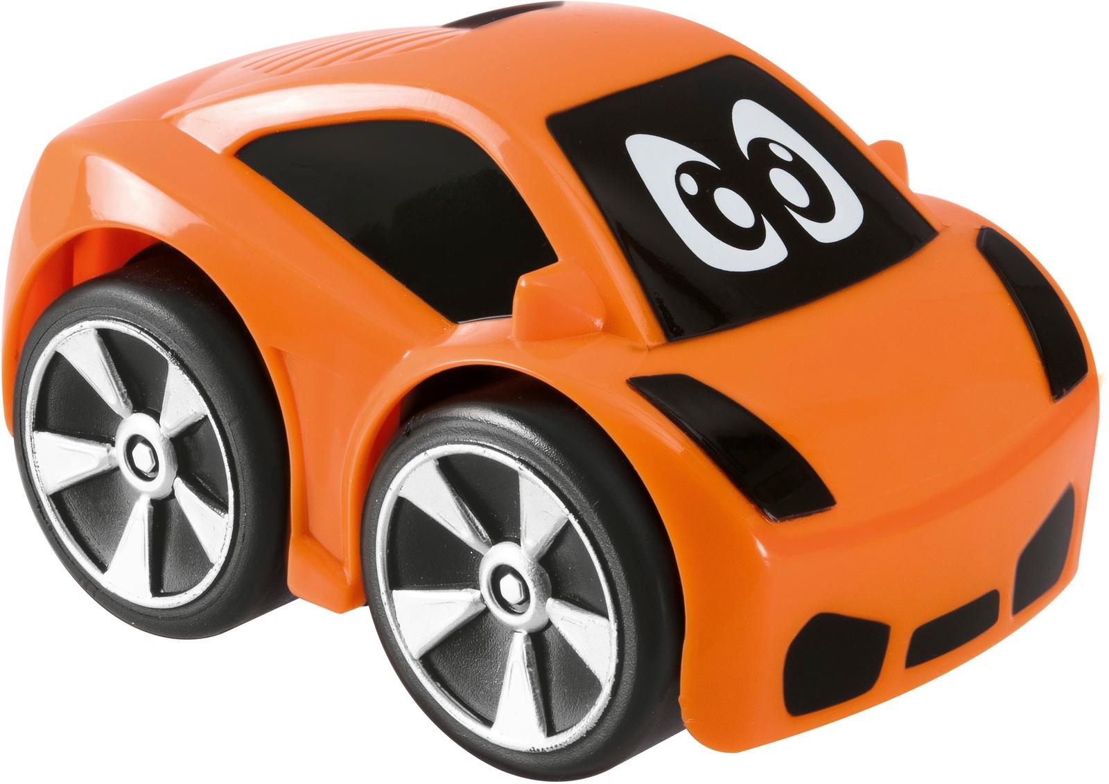 Машинка-игрушка Chicco Turbo Touch Oliver оранжевый chicco машинка turbo touch oliver цвет оранжевый