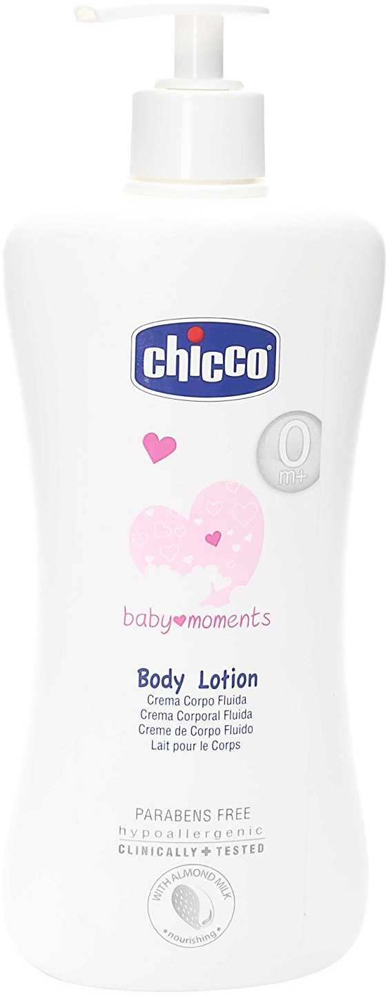 цена на Молочко-лосьон для тела Chicco Baby Moments, 500 мл