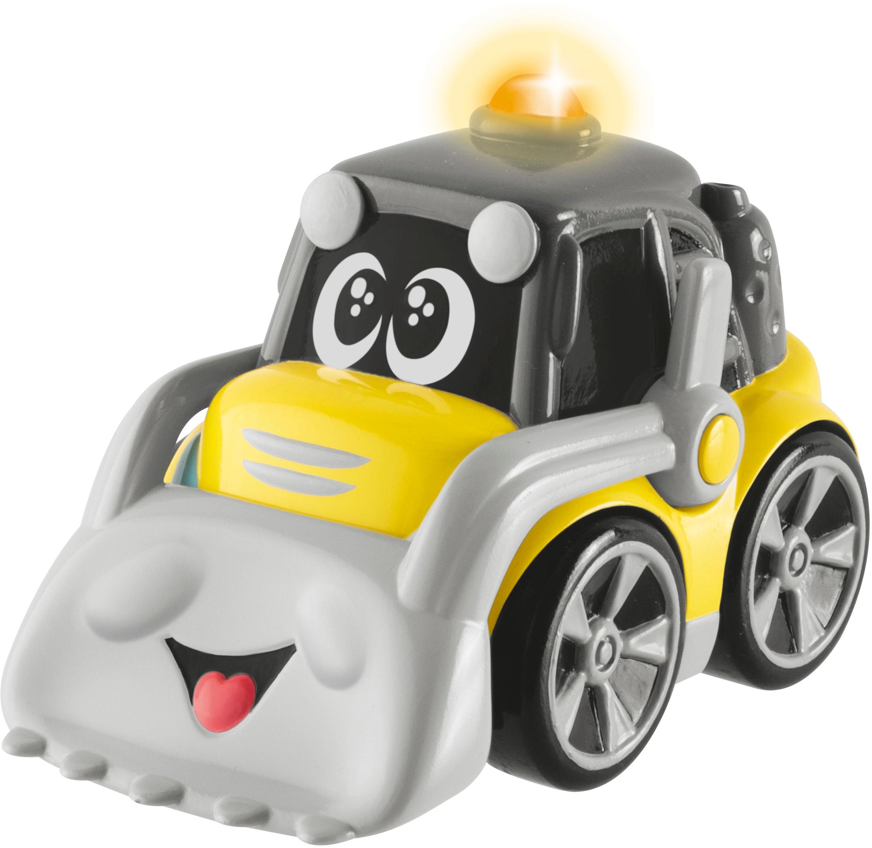 Машинка-игрушка Chicco Строитель Dozzy желтый