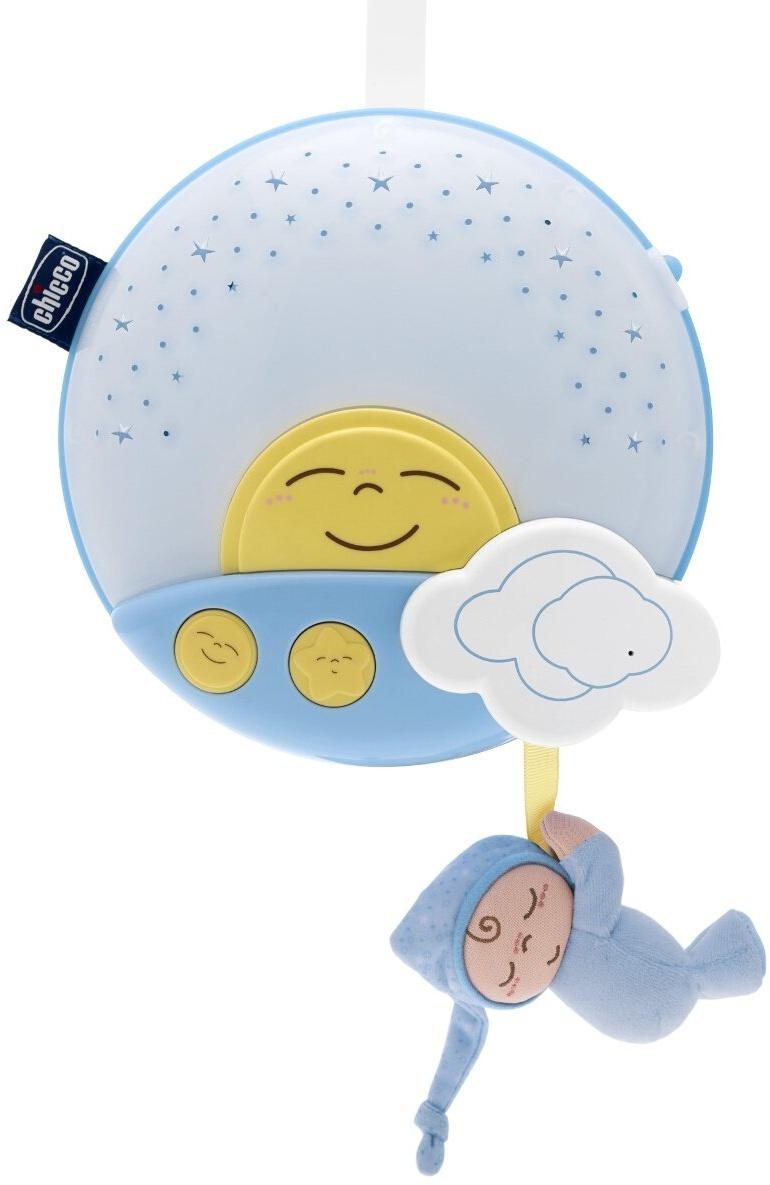 Музыкальная игрушка Chicco 92209 голубой музыкальная подвеска на кроватку chicco чико спокойной ночи цвет розовый