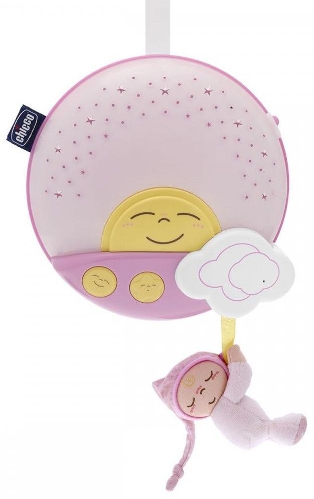 Музыкальная игрушка Chicco 92210 розовый музыкальная подвеска на кроватку chicco чико спокойной ночи цвет розовый