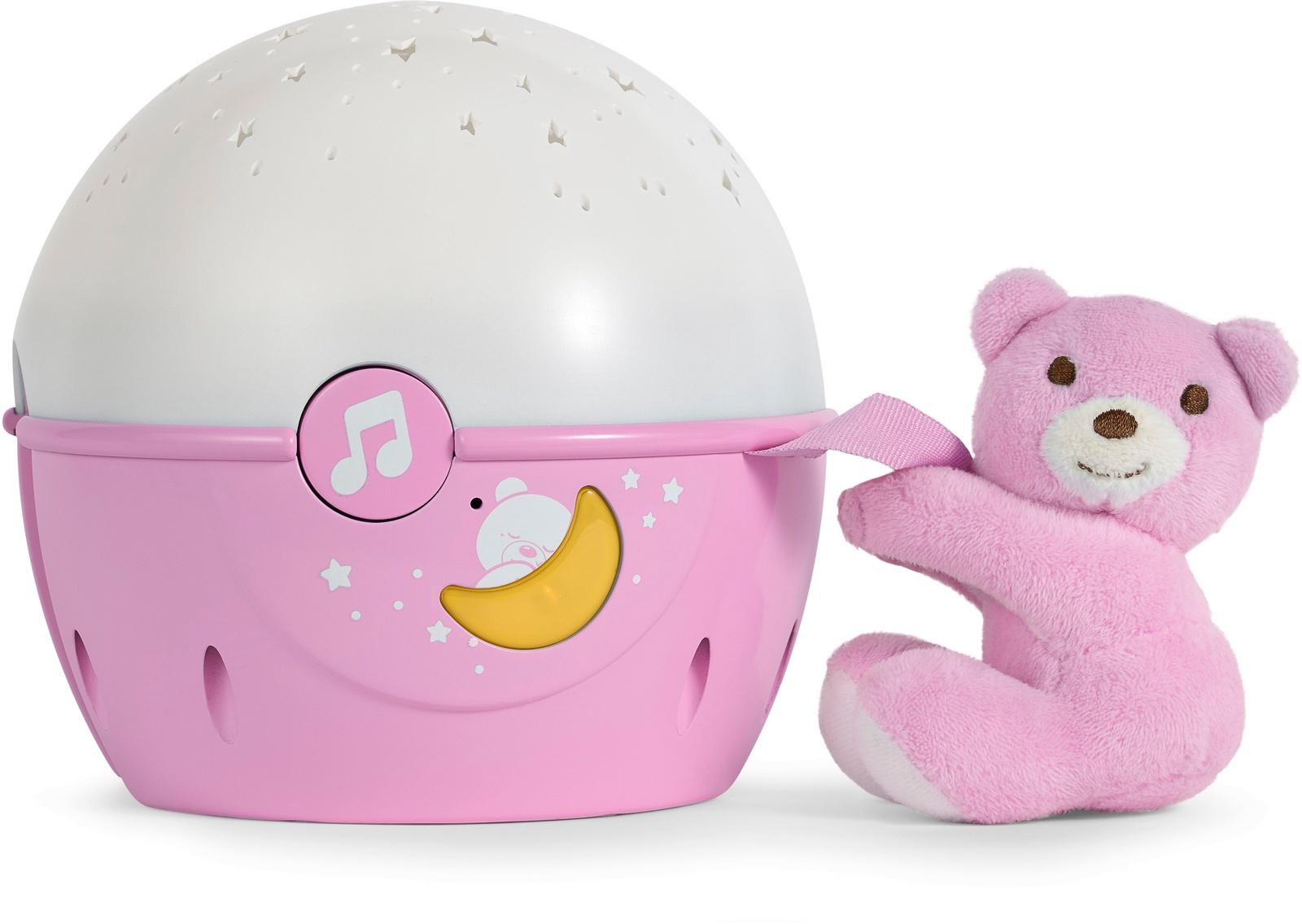 Музыкальная игрушка Chicco 92708 розовый музыкальная подвеска на кроватку chicco чико спокойной ночи цвет розовый