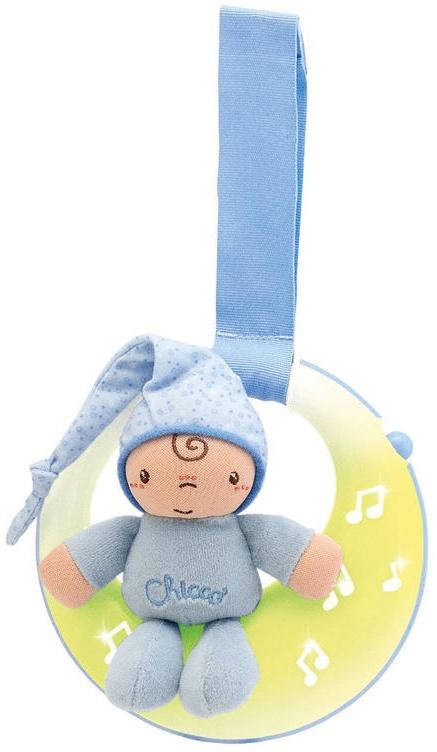Музыкальная игрушка Chicco 17215 голубой музыкальная подвеска на кроватку chicco чико спокойной ночи цвет розовый