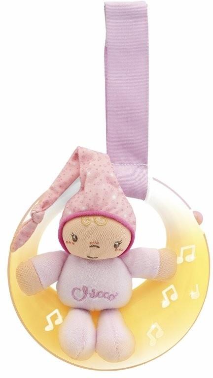 Музыкальная игрушка Chicco 17214 розовый музыкальная подвеска на кроватку chicco чико спокойной ночи цвет розовый