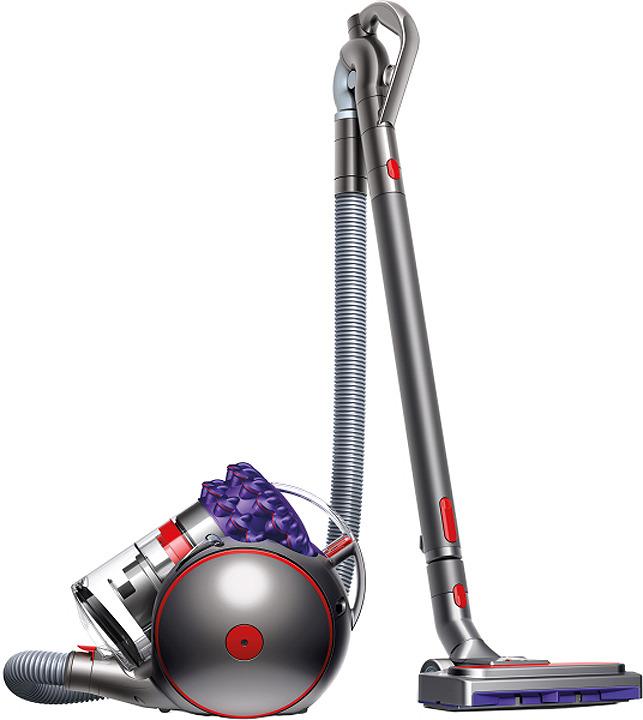 Цокольный пылесос Dyson CY26 Parquet 2 (Big Ball Parquet 2), серый металлик, фиолетовый цена