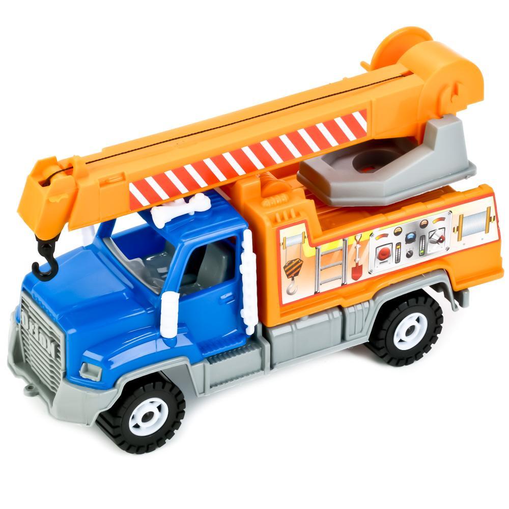Машинка ORION TOYS Камакс-Н Автокран 238 синий pioneer toys машинка строительная техника цвет оранжевый