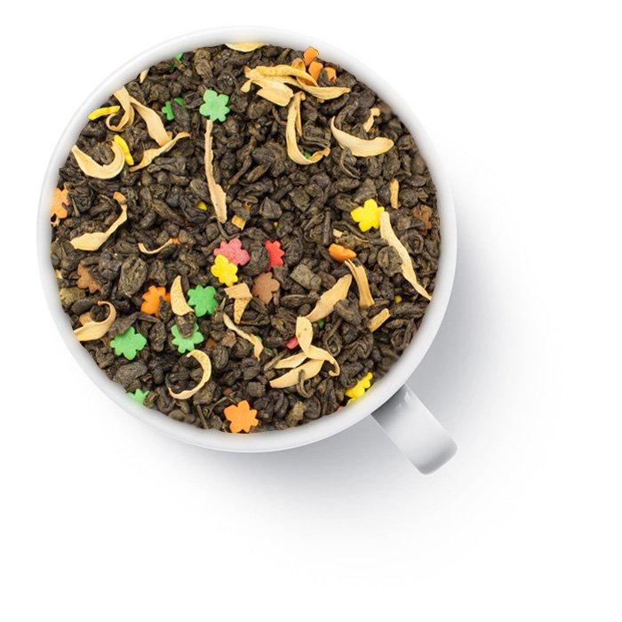 Чай листовой The peace of tea Ветер перемен35036Купаж зеленого чая ганпаудер с лепестками цветов апельсина и сахарными осенними листиками обладает ароматом свежей выпечки из уютной кондитерской с нотами мороженого и слегка терпким вкусом зеленого чая со сладким пломбирным послевкусием.