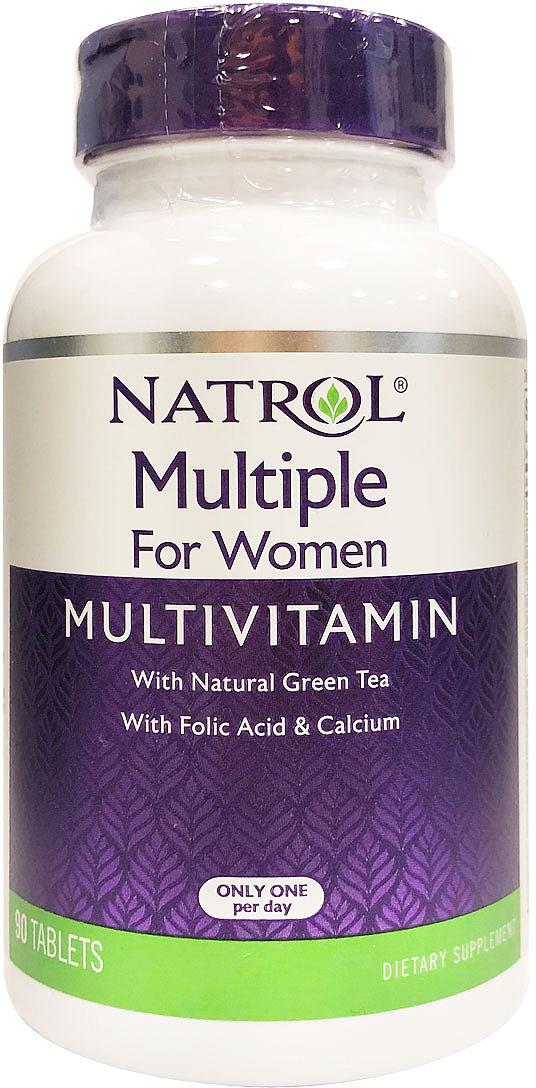 Витаминно-минеральные комплексы Natrol, для женщин, 90 таблеток цена