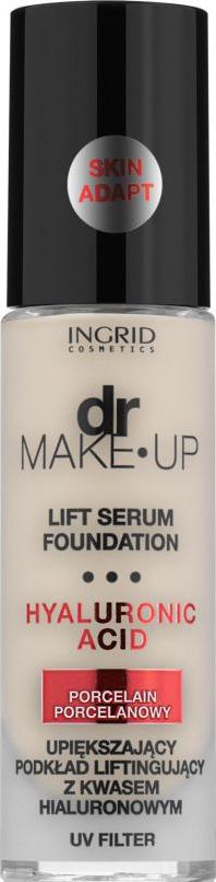 Тональный крем Ingrid Dr Make Up, тон 100, слоновая кость