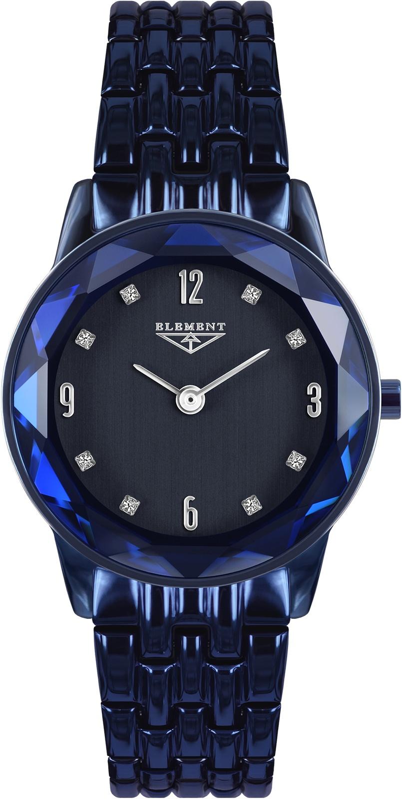 Часы 33 ELEMENT 331709, темно-синий женские часы 33 element 331709c