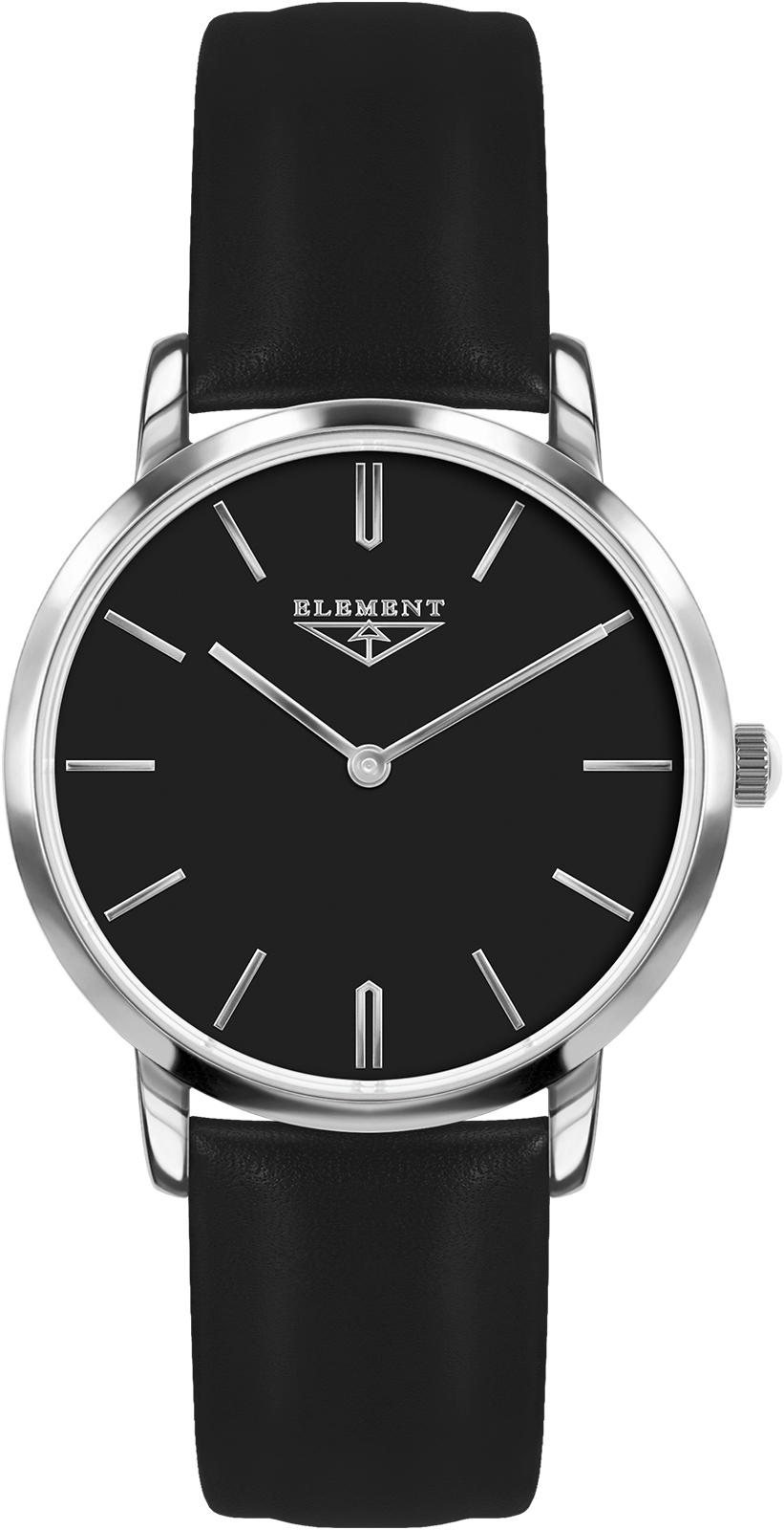 Часы 33 ELEMENT 331630, черный женские часы 33 element 331709c