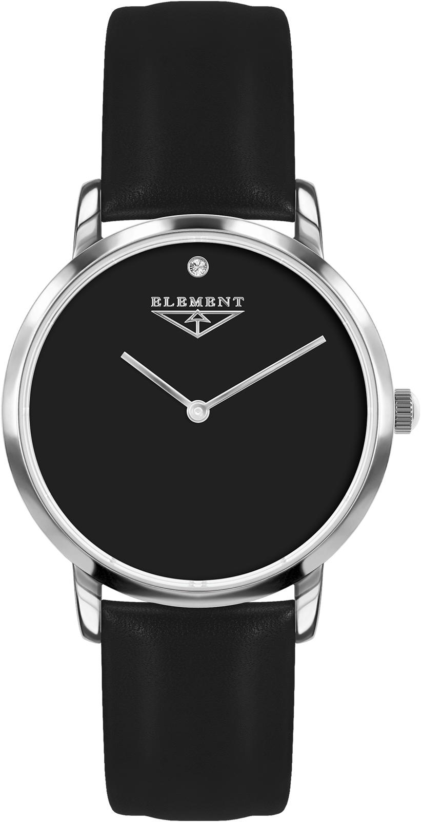 Часы 33 ELEMENT 331632, черный женские часы 33 element 331709c