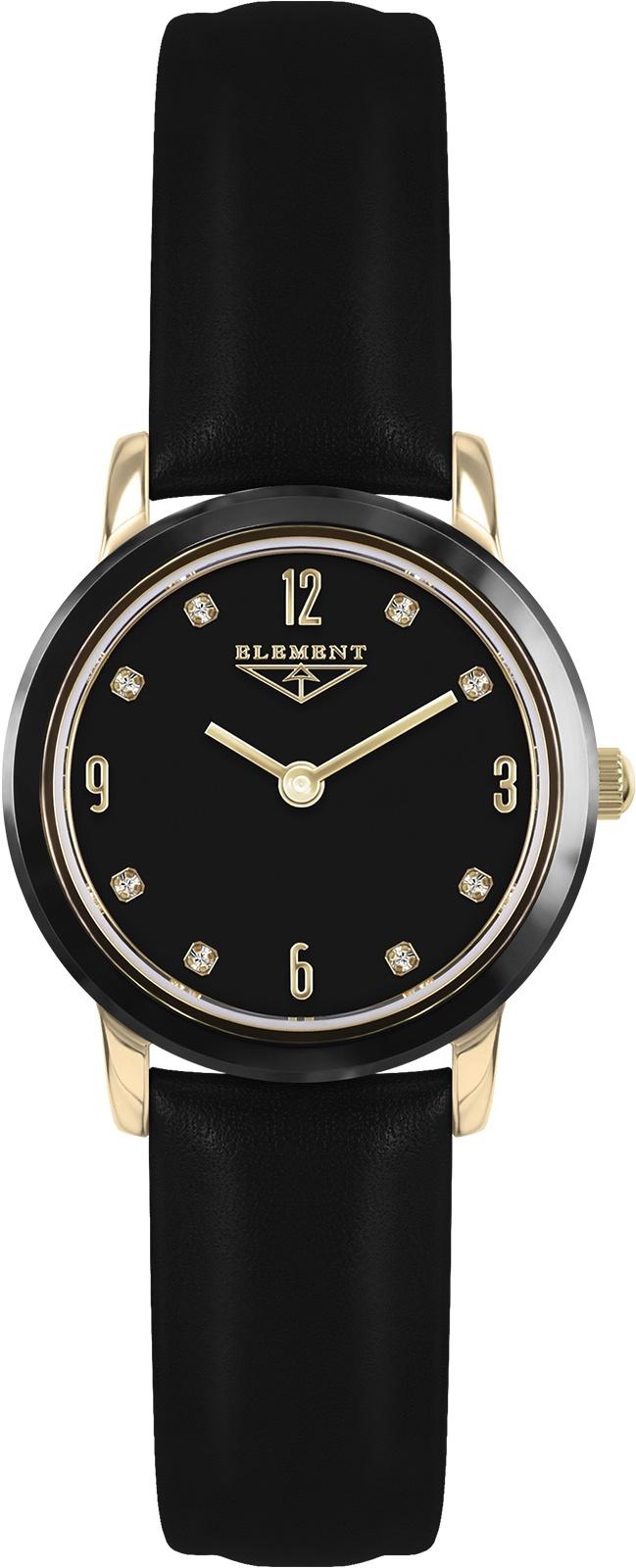Часы 33 ELEMENT 331624, черный женские часы 33 element 331624
