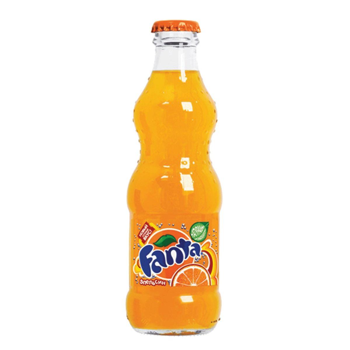 Газированный напиток Fanta Апельсин, стекло, 12 шт по 330 мл